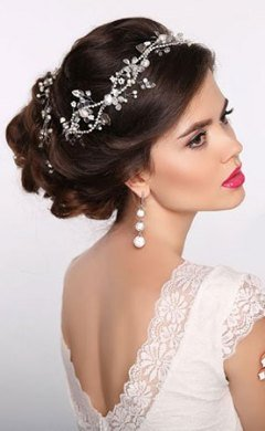 Perfect Bridal Hair At David Youll Hair & Beauty Salon in Paignton, Devon